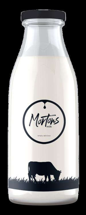 Morton's Milk Bottle