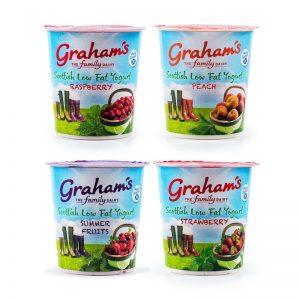 Graham's Dairies 4 Pack Mixed Yoghurts