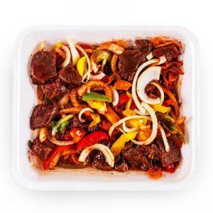 Nisbet's Hot & Spicy Beef Stir Fry