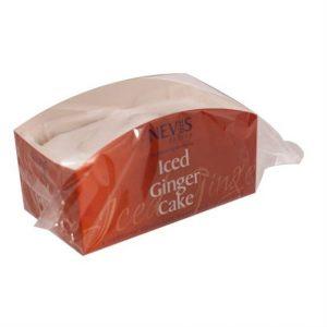 Iced Ginger Cake